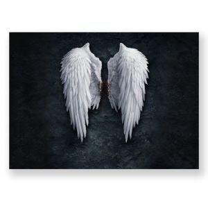 Leinwandbild Flügel Design ohne Rahme im Schlafzimmer