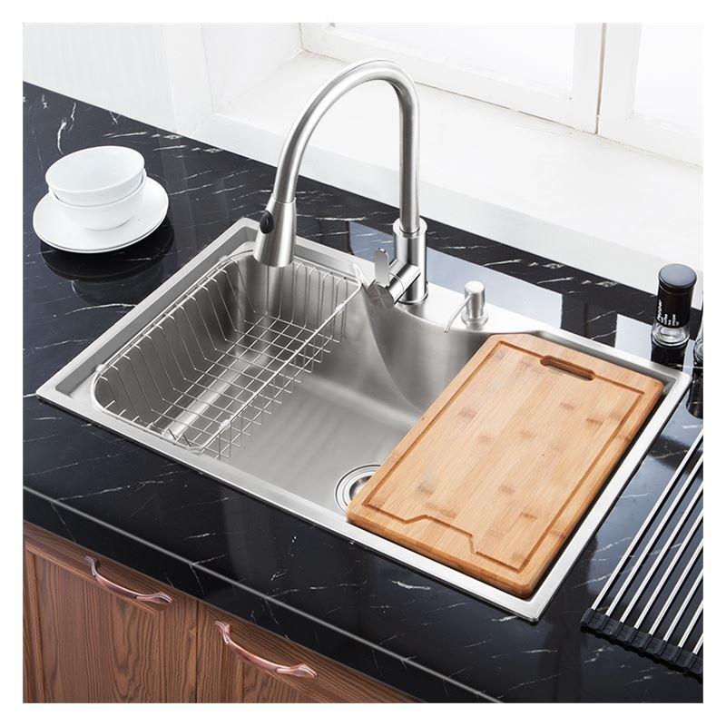 moderne einbausp le edelstahl sp lbecken ecikg f r k che mf7848b. Black Bedroom Furniture Sets. Home Design Ideas