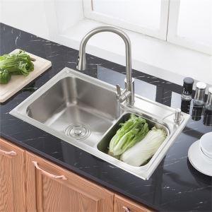 Küchenspüle Edelstahl Einbauspüle Modern für Küche S7845