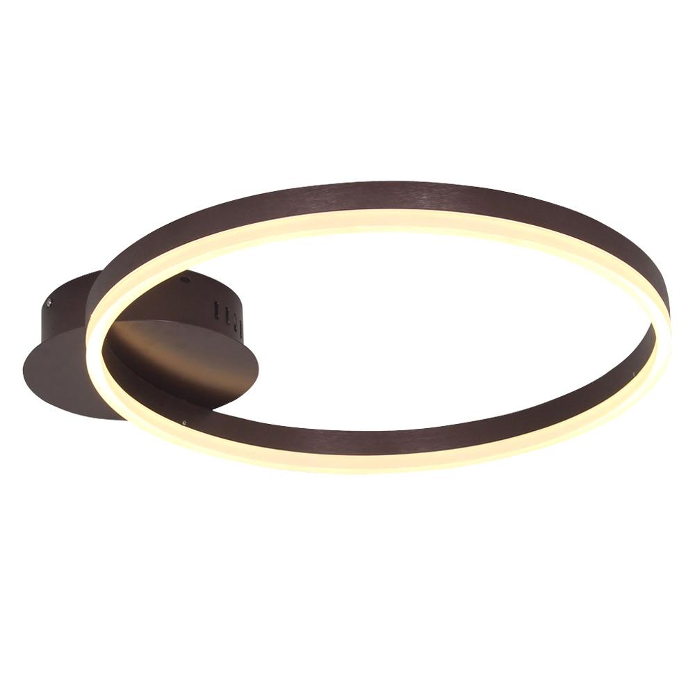 led deckenleuchte modern ringe aus acryl. Black Bedroom Furniture Sets. Home Design Ideas
