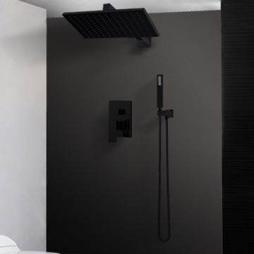 Duscharmatur Unterputz duscharmatur unterputz schwarz im badezimmer
