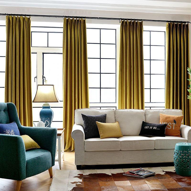 vorh nge halbtransparente gardinen vorhang unifarbe aus samt im schlafzimmer. Black Bedroom Furniture Sets. Home Design Ideas