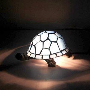 Tischleuchte Tiffany Stil Schildkröten Gestaltet 1 flammig
