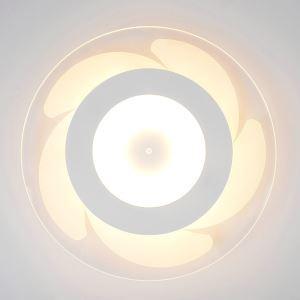 Deckenlampe Led Modern Weiß Windmühle Design im Schlafzimmer