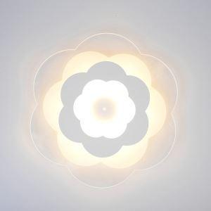 Deckenlampe Led Modern Floral Design in Weiß