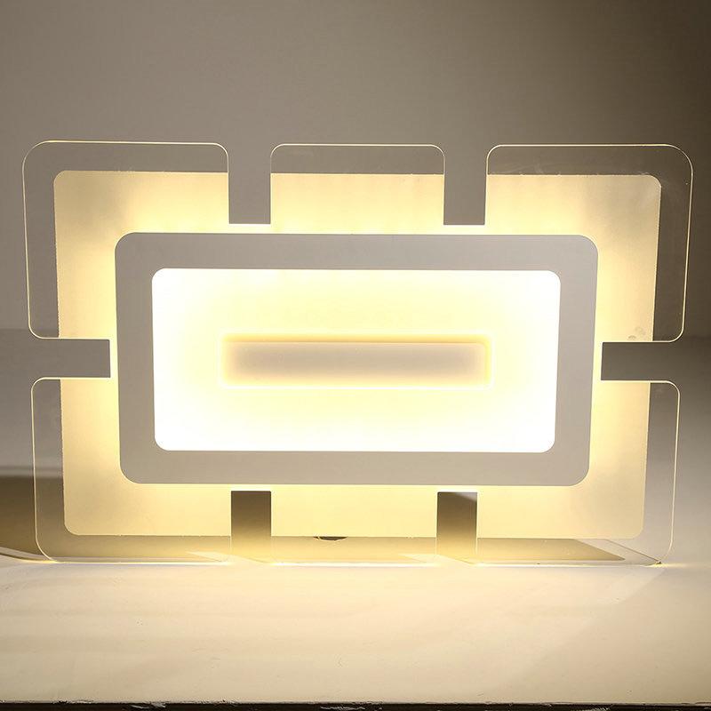 led deckenleuchte rechteckig stadt des himmels design. Black Bedroom Furniture Sets. Home Design Ideas