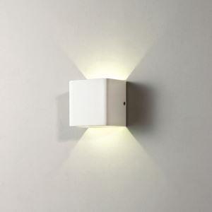 (EU Lager)Modern Wandleuchte Eisen LED 1 flammig Eckig Matt Weiß