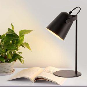 Moderne Tischleuchte aus Eisen Schreibtischleuchte 1 flammig