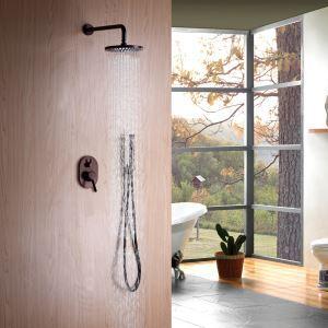 Duschsystem Unterputz Wandmontage Regendusche mit Handbrause