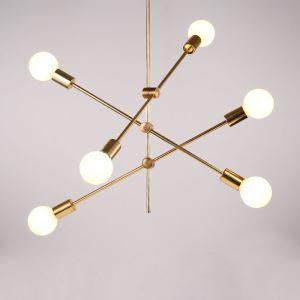 Hängelampe Modern Magische Bohne Design in Gold