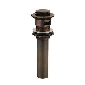 (EU Lager)Antik Messing Ablaufgarnitur mit Überlauf (0567 - HY1039)