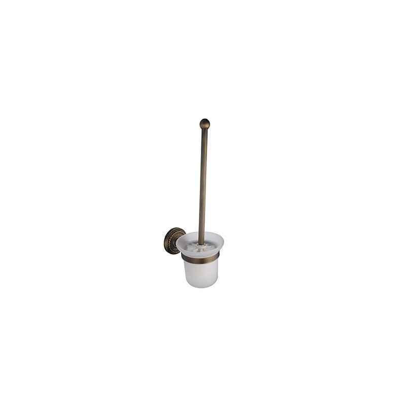 antik messing bad toilettenb rstenhalter badzubeh r f r. Black Bedroom Furniture Sets. Home Design Ideas