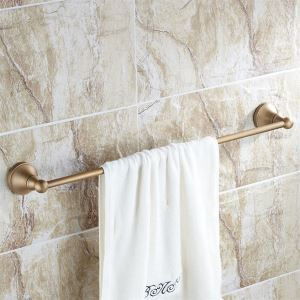 (EU Lager) Antik Messing 24 Inch Handtuchhalter
