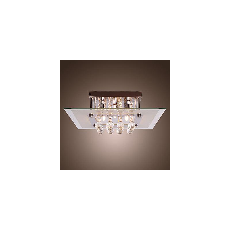 beleuchtung deckenleuchten eu lager zeitgem e kristall tropfen einbauleuchte 5 flammig. Black Bedroom Furniture Sets. Home Design Ideas