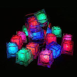 (EU Lager)20 flammige Eis kubische LED-Leuchte Farbwechsel