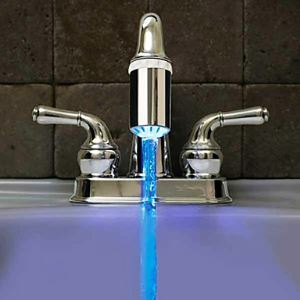 (EU Lager)LED Wasserhahn Spray Düse (HM - F0010758)