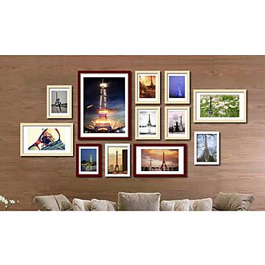 ausverkauft moderne wand bilderrahmen 12er set. Black Bedroom Furniture Sets. Home Design Ideas