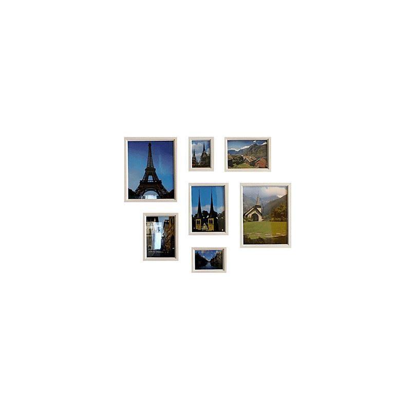 Ausverkauft moderne wand bilderrahmen 7er set pm 7 b b for Moderne bilderrahmen