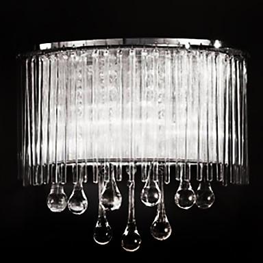 beleuchtung wandleuchten kristall wandleuchten eu lager 2 flammige moderne wandleuchte. Black Bedroom Furniture Sets. Home Design Ideas