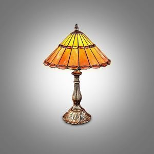 (EU Lager)Tiffany Tischleuchte 1 flammig im Schlafzimmer