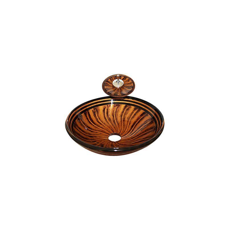 ausverkauft eu lager geh rtetes glas schiff form runde waschbecken mit montage ring und. Black Bedroom Furniture Sets. Home Design Ideas