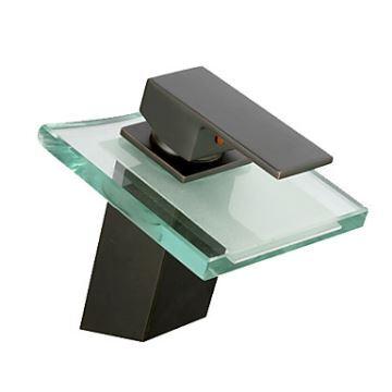 armaturen waschtischarmaturen eu lager wasserfall antik bronze bad waschtischarmatur schwarz. Black Bedroom Furniture Sets. Home Design Ideas