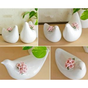 Zeitgenössische Keramik Vogel Ornament (separat verkaufen)