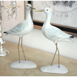 Zeitgenössische Nordeuropa Stil Polyester Vogel Ornament (sich separat verkaufen)