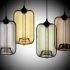 Zeige Details für (EU Lager)Glas Pendelleuchte Modern in Blase-Design