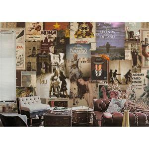 Zeitgenössische italienische Filme Vlies Papier-Wandbild