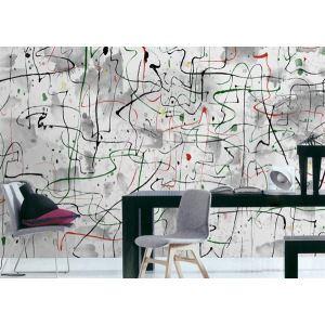 Zeitgenössische abstrakte künstlerische Vlies Papier-Wandbild