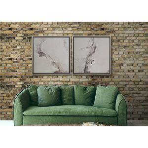 Zeitgenössische klassische Brick Wand Vlies Papier-Tapeten