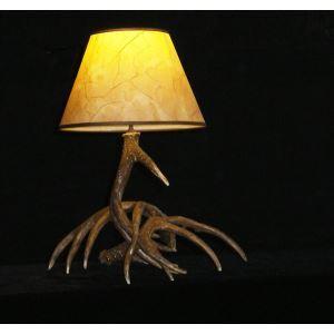 (EU Lager)Künstlerische Geweih Design Tischleuchte 1-Flammig