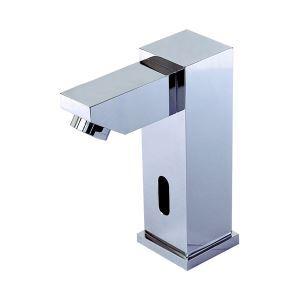 (EU Lager)Zeitgenössische Chrom Oberfläche Messing Sensor Waschtischarmatur