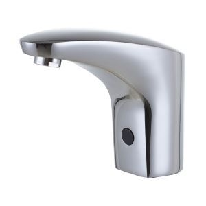 (EU Lager)Chrom-Oberfläche Zeitgemäß Messing Sensor Waschtischarmatur
