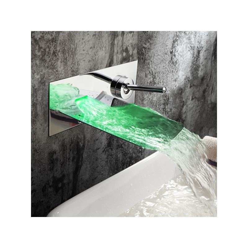 Armaturen badezimmer waschtischarmaturen led armaturen for Wasserfall armaturen