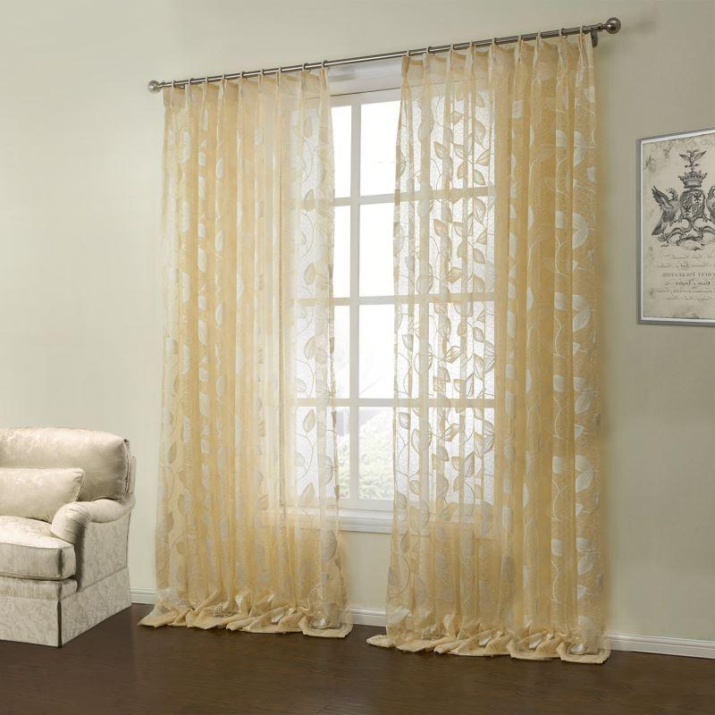 gardinen deko gardine landhaus baumwolle gardinen dekoration verbessern ihr zimmer shade. Black Bedroom Furniture Sets. Home Design Ideas