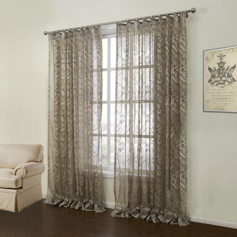 gardinen deko » gardinen braun - gardinen dekoration verbessern ... - Gardinen Modern Wohnzimmer Braun
