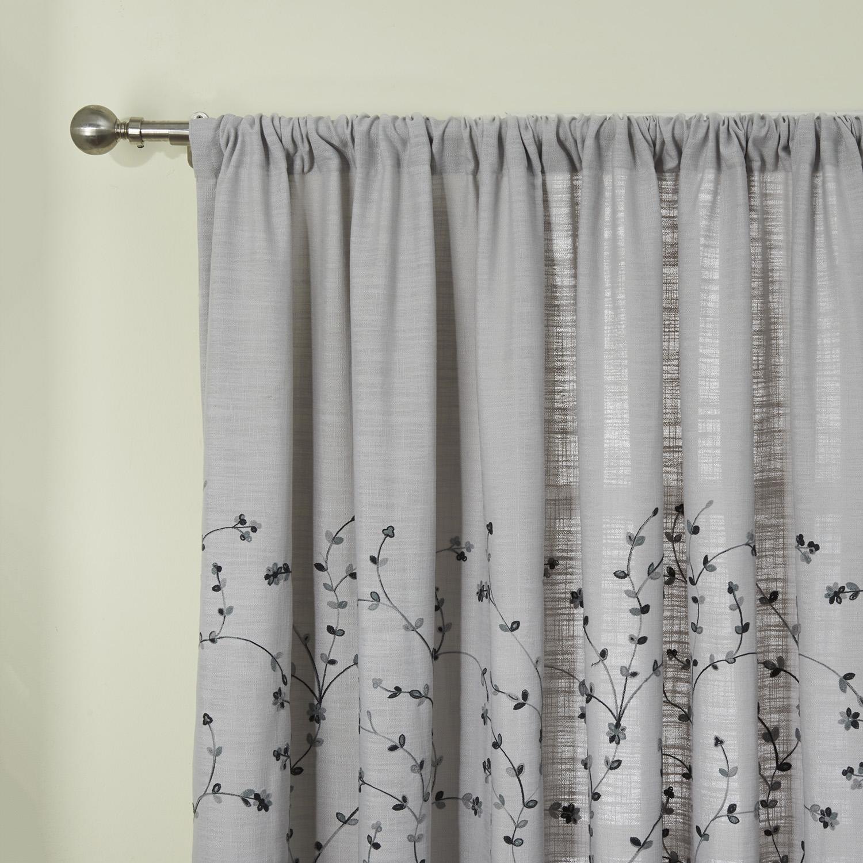 Vorhang Grau Muster graue vorhnge. senschal senvorhang vorhang xcm luciano hgrau with