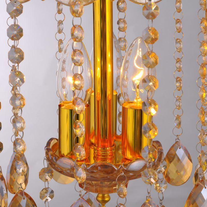 ausverkauft eu lager modern orange kristall deckenleuchte pendelleuchte 3 flammig. Black Bedroom Furniture Sets. Home Design Ideas