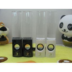 Lautsprecher Box LED Wassersäule Design