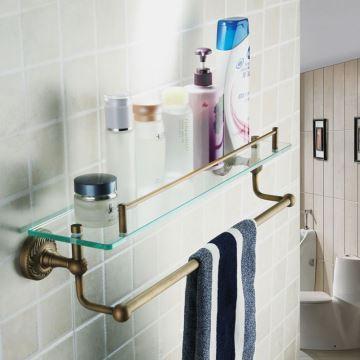 Antik Messing Handtuchhalter Ihr Badezimmer Dekorieren