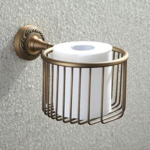 Zeige Details für (EU Lager) Europa Antik WC-Papierhalter