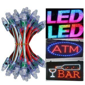 (EU Lager)100 flammige LED Lichterkette-DC5V IP68 Wasserdicht-10M Länge RGB Weihnachtslichterkette