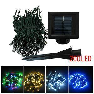 (EU Lager)22M Länge 200 flammige Wunderschöne LED Weihnachten Lichterkette