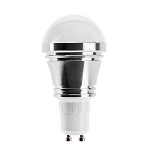 (EU Lager)GU10 led Kugellampe 5*1W 400lm 180° SMD 5050 AC85-265V Silber