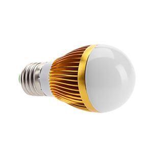 (EU Lager)E27 led Kugellampe 5*1W 560lm 180° SMD 5050 AC85-265V Gold