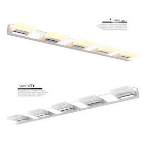 (EU Lager)8W/12W/16W/20W Spiegelleuchte LED Modern&Zeitgenössisch Spiegelleuchte Wandleuchte Acryl Lampenschirm