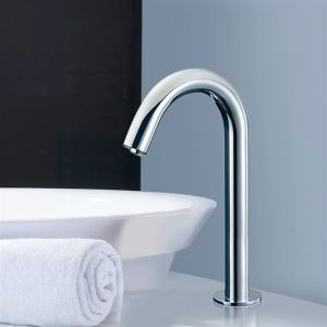 (EU Lager) Automatische Kalt Sensor Wasserhahn (0743-J-TO330.S)