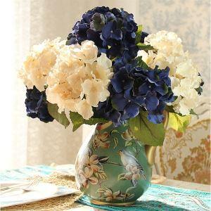 Hortensie Kunstblume+Vase